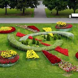 Ландшафтный дизайн: огород и цветники