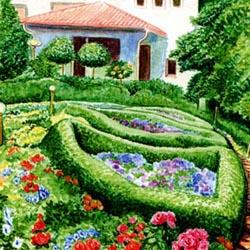 Ландшафтный дизайн садового участка своими руками 63